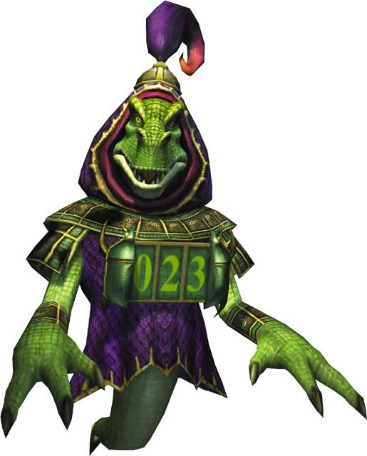 The shopkeeper from StarFox Adventures