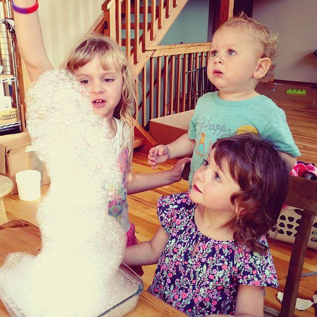 Bubble snake! #kids #science!