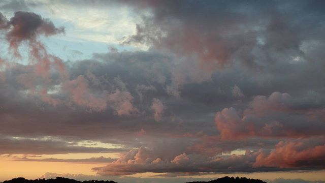 Happy evening! #sunset